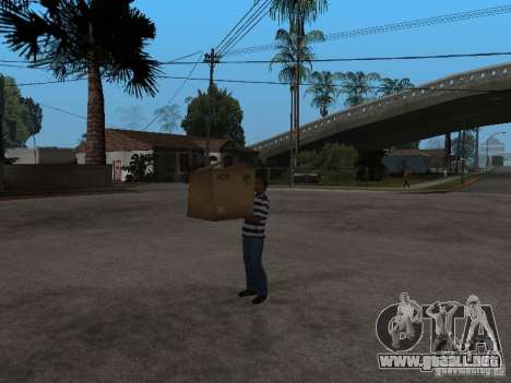 CJ-cleptómano para GTA San Andreas tercera pantalla