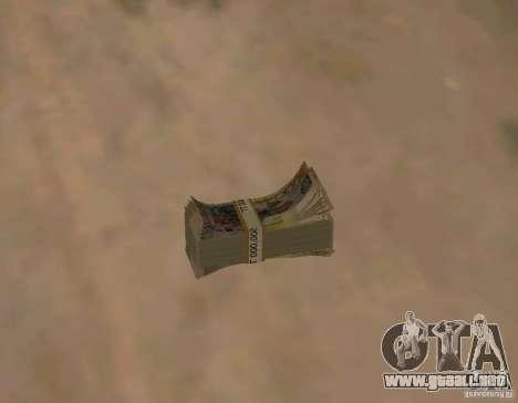 Dinero kazajo para GTA San Andreas tercera pantalla