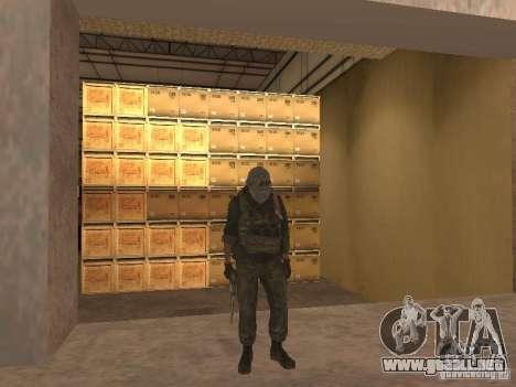 Dušman 2 de COD4MW para GTA San Andreas quinta pantalla
