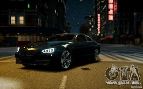 BMW 640i F12 para GTA 4 visión correcta