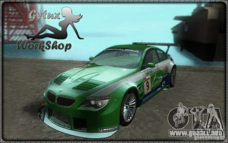 Alpina B6 GT3 para GTA San Andreas