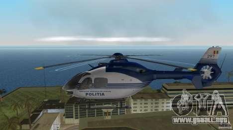 Eurocopter Ec-135 Politia Romana para GTA Vice City vista lateral izquierdo
