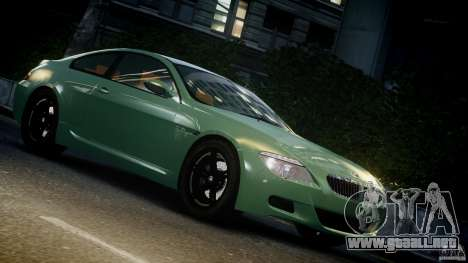 BMW M6 G-Power Hurricane para GTA 4