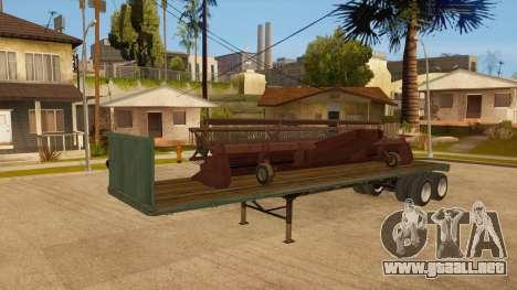 Arrastre para vista lateral GTA San Andreas