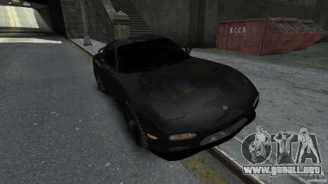 Mazda RX7 1995 Black [EPM] para GTA 4