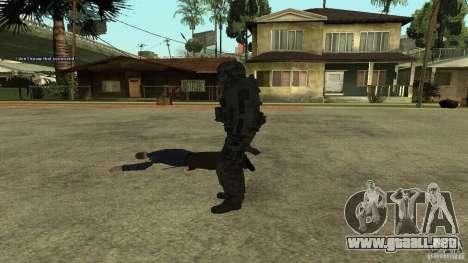 Roach from CoD MW2 para GTA San Andreas sucesivamente de pantalla