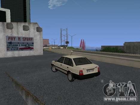 FSO Polonez Atu 1.4 GLI 16v para GTA San Andreas vista hacia atrás