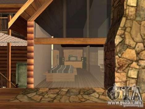 Villa en San Fierro para GTA San Andreas sexta pantalla