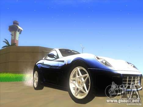 Ferrari 599 GTB Fiorano para GTA San Andreas left