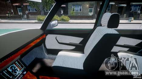 Mercedes-Benz 280SE W116 para GTA 4 vista interior