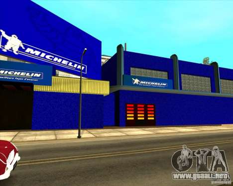 Garage Michelin para GTA San Andreas