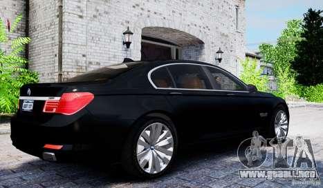 BMW 750Li para GTA 4 visión correcta