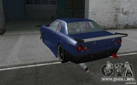 Elegy MS R32 para la vista superior GTA San Andreas