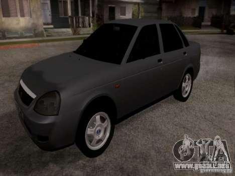 LADA Priora 2170 para GTA San Andreas