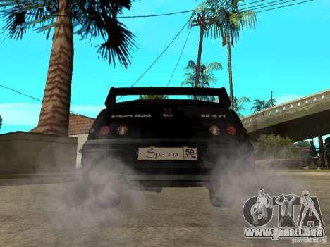 VAZ 2110 Penza Tuning para GTA San Andreas vista posterior izquierda