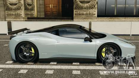 Ferrari 458 Italia 2010 [Key Edition] v1.0 para GTA 4 left