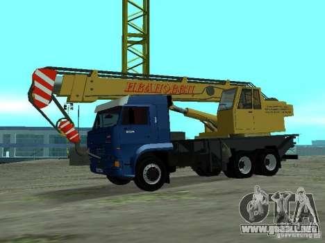 KAMAZ 65117 Ivanovets para GTA San Andreas