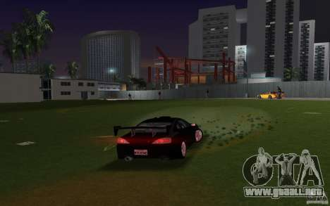 Nissan Silvia spec R Tuned para GTA Vice City vista lateral izquierdo
