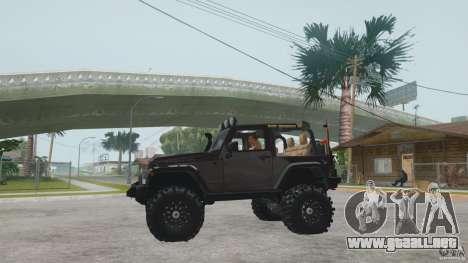 Jeep Wrangler Off road v2 para la visión correcta GTA San Andreas