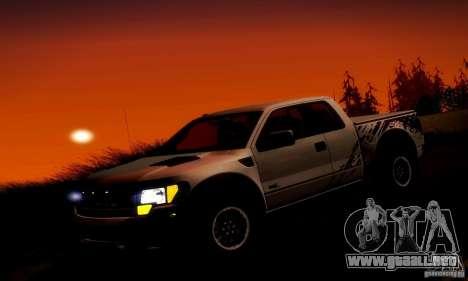 Ford F-150 SVT Raptor V1.0 para el motor de GTA San Andreas