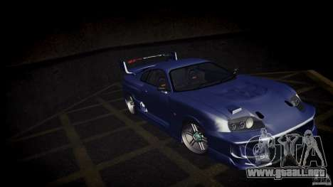 Toyota Supra Tuned para GTA San Andreas left