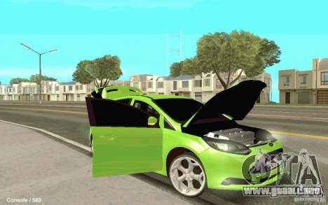 Ford Focus para la visión correcta GTA San Andreas