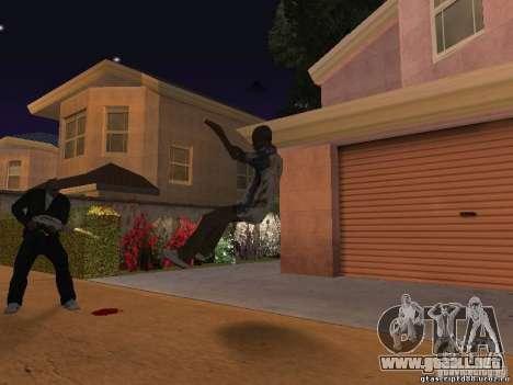 El efecto del tiro cerca para GTA San Andreas