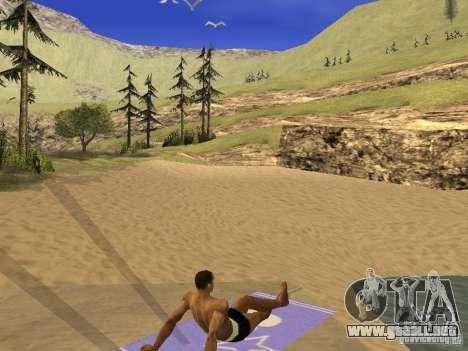 Estera del resto para GTA San Andreas segunda pantalla