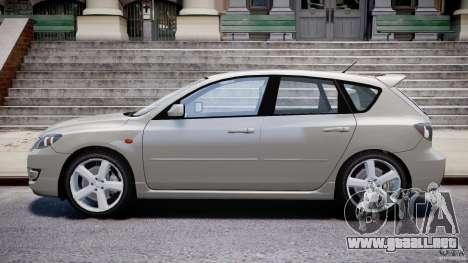 Mazda 3 2004 para GTA 4 vista lateral
