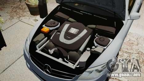Mercedes-Benz CL65 AMG v1.1 para GTA 4 vista lateral
