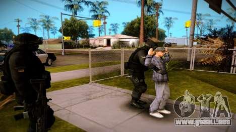 S.W.A.T. para GTA San Andreas tercera pantalla