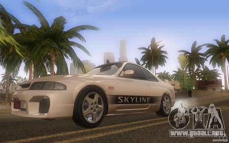 Nissan Skyline R33 GTS25t Stock para visión interna GTA San Andreas