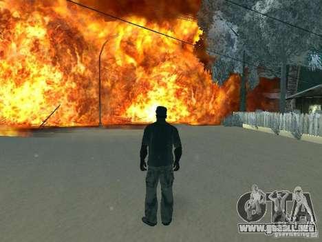 Salut v1 para GTA San Andreas quinta pantalla