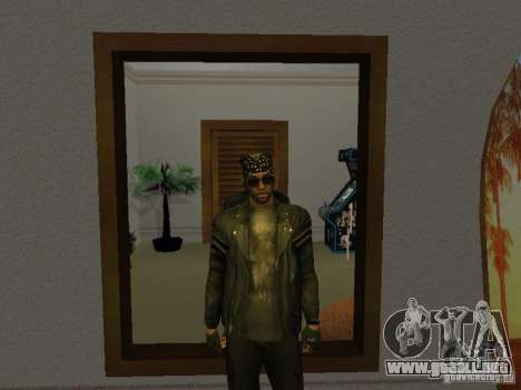 Chaqueta de cráneo para GTA San Andreas segunda pantalla