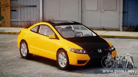 Honda Civic Si Coupe 2006 v1.0 para GTA 4