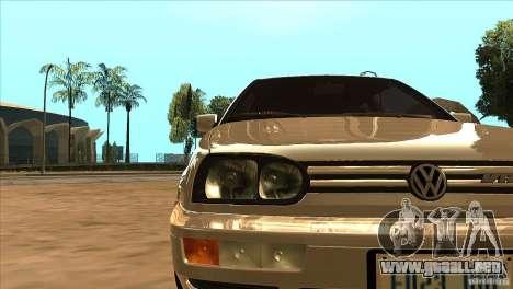 Volkswagen Golf MK3 VR6 para vista lateral GTA San Andreas