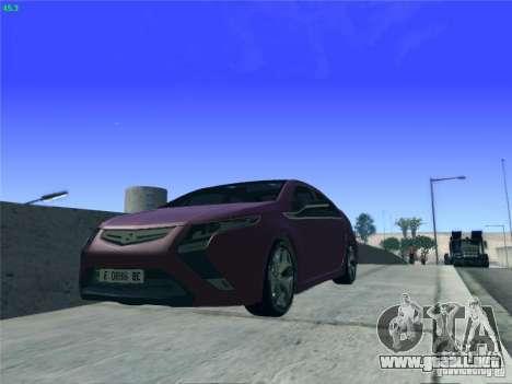 Opel Ampera 2012 para visión interna GTA San Andreas