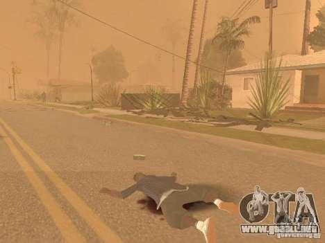 Terremoto para GTA San Andreas sucesivamente de pantalla