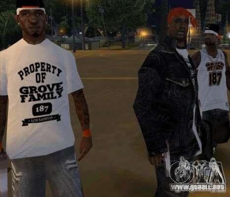 Bandas de reemplazo, tatuajes, ropa, etc.. para GTA San Andreas twelth pantalla