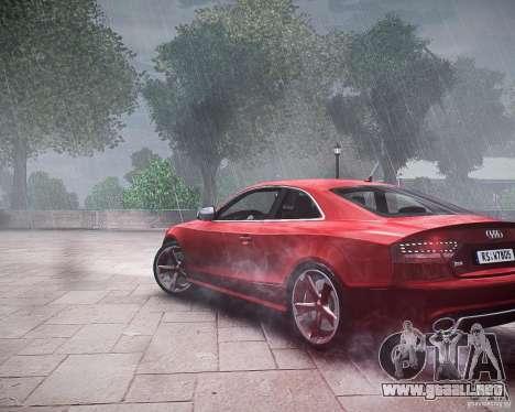 Audi RS5 2010 para GTA 4 left