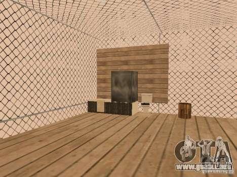Villa en San Fierro para GTA San Andreas quinta pantalla