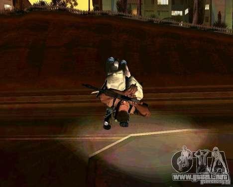 Animaciones de reclutamiento de GTA IV para GTA San Andreas