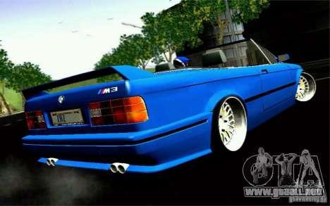 BMW E30 M3 Cabrio para GTA San Andreas left