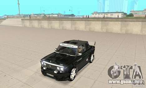 Tunning 2106 VAZ Fantasy ART para GTA San Andreas