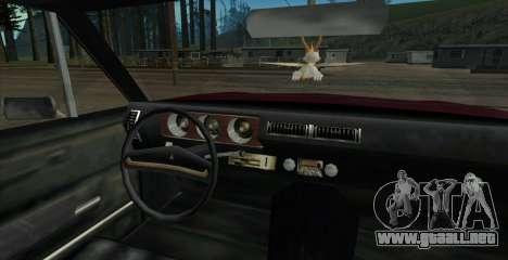 Eon SabreTaur Picador para la visión correcta GTA San Andreas