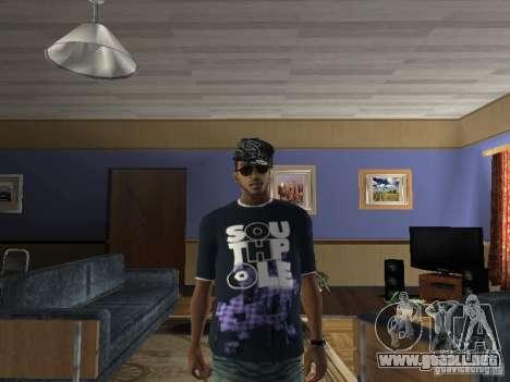 Camiseta Hip-Hop para GTA San Andreas