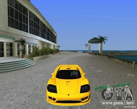 Saleen S7 para GTA Vice City left