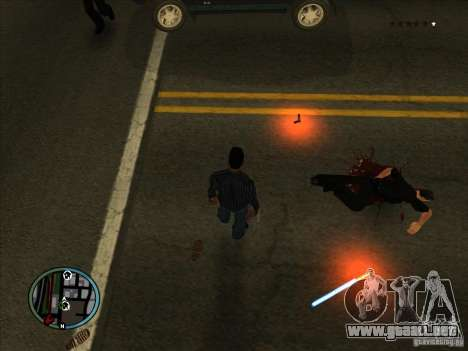 GTA IV LIGHTS para GTA San Andreas tercera pantalla