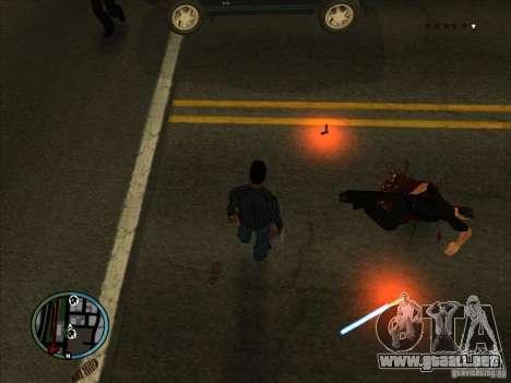 GTA IV LIGHTS para GTA San Andreas tercera pantalla