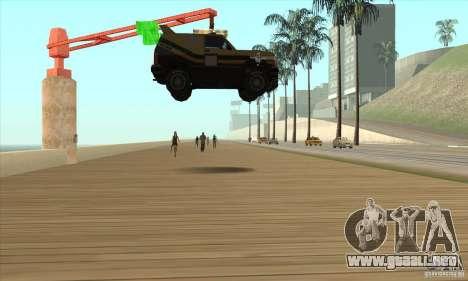 Máquina de auto-muerte muerte para GTA San Andreas tercera pantalla